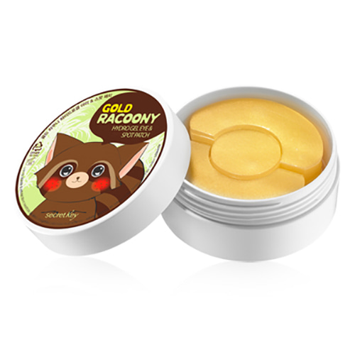 secretKey Gold Racoony Hydrogel Eye & Spot Patch