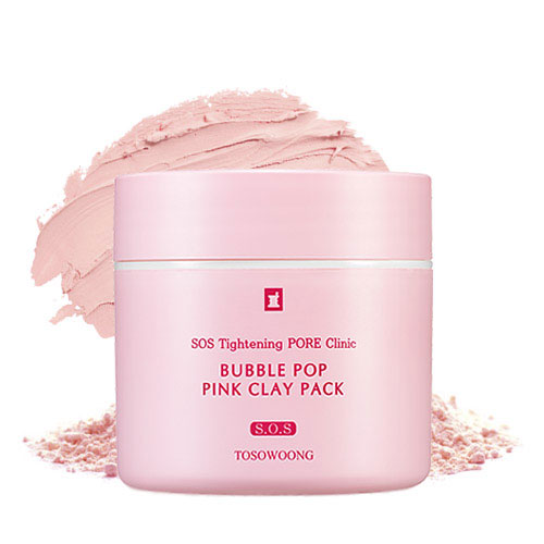 TOSOWOONG SOS Tightening PORE Clinic Bubble Pop Pink Clay Pack 50g