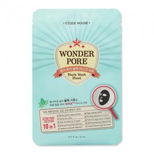 Etude House Wonder Pore Black Mask Sheet 21ml