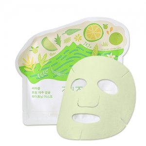 Ciracle From Jeju Citrus Sudachi Whitening Mask 21g*10ea