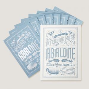 BLITHE Blue Zone Marine Intensive Mask Abalone Set 8ea