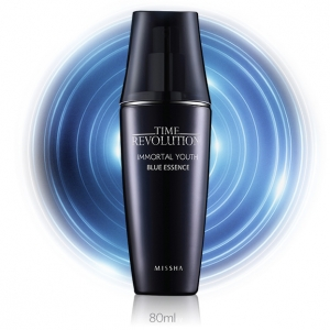 Missha Time Revolution Immortal Youth Blue Essence 80ml