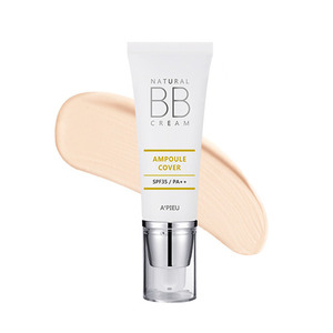 A'PIEU Natural Ampoule Cover BB Cream SPF35/PA++ 40ml