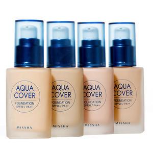 Missha Aqua Cover Foundation SPF20/PA++ 30ml