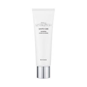 Missha Time Revolution White Cure Whipping Foam Cleanser 125ml