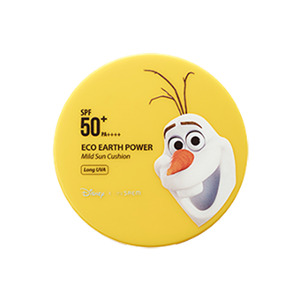 the SAEM Disney Edition Eco Earth Power Mild Sun Cushion SPF50+ PA++++ 15g