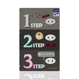 Holika Holika Pig Clear Black Head 3-Step Kit Strong