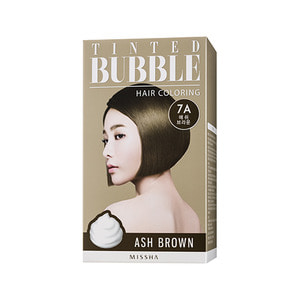 Missha Tinted Bubble Hair Coloring Ash Brown