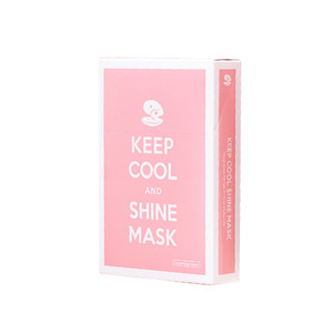 KEEP COOL Shine Intensive Brightening Mask 10ea