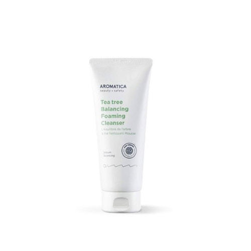Aromatica Tea Tree Balancing Foaming Cleanser 180g