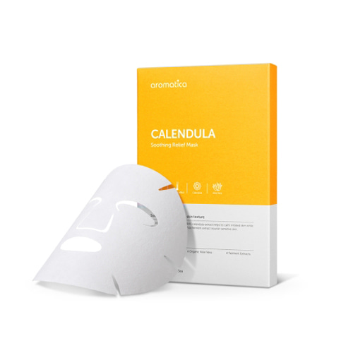 Aromatica Calendula Soothing Relief Mask 19g * 5ea