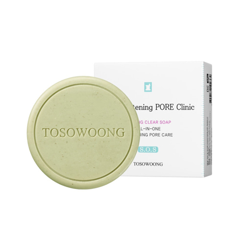 TOSOWOONG SOS Tightening Pore Clinic Pore Soap 100g