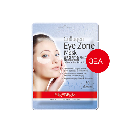 PUREDERM Collagen Eye Zone Mask 30sheets*3ea