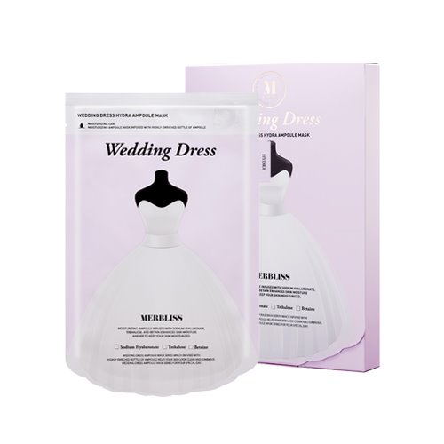 MERBLISS Wedding Dress Hydra Ampoule Mask 5ea