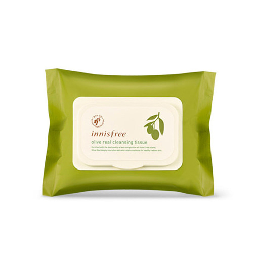 innisfree Olive Real Cleansing Tissue 30 Sheets