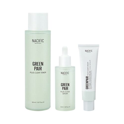 [TIME DEAL] NACIFIC Green Pair Plus Clear Set