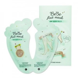 Etude House BeBe foot Mask 20ml*2(one use) Shiny Baby Peeling Liquid